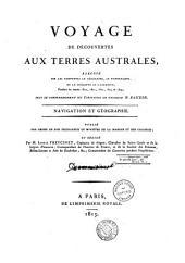 """Voyage de découvertes aux terres australes exécuté sur les corvettes """"le Géographe"""", """"le Naturaliste"""", et la goëlette """"le Casuarina"""" pendant les années 1800, 1801, 1802, 1803 et 1804 ... Historiqe: tome second"""