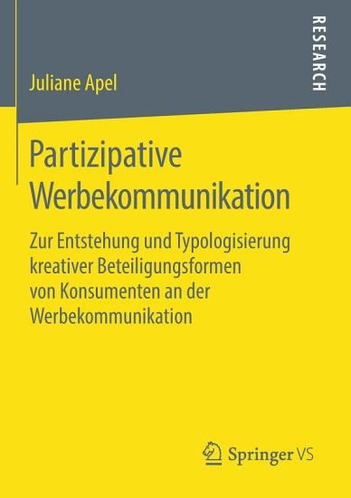 Partizipative Werbekommunikation PDF