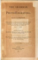 The Grammar of Photo-engraving