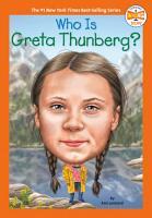 Who Is Greta Thunberg  PDF