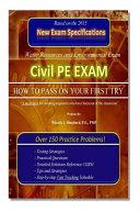 Civil Pe Exam PDF