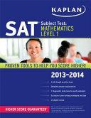 Kaplan SAT Subject Test Mathematics Level 1 2013 2014 PDF