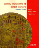 Sources in Patterns of World History: To 1600