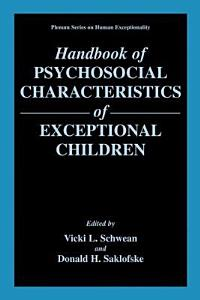 Handbook of Psychosocial Characteristics of Exceptional Children Book