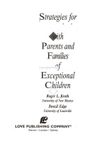 Strategies for Communicating with Parents and Families of Exceptional Children PDF