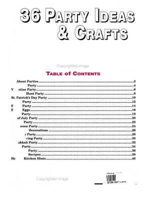 One Hundred Thirty-Six Party Ideas and Crafts Kids Can Make