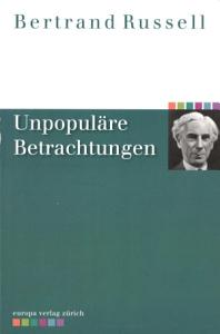 Unpopul  re Betrachtungen PDF