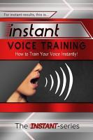 Instant Voice Training PDF