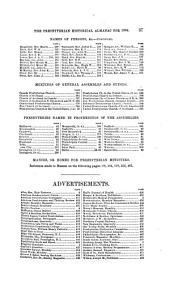 The Presbyterian Historical Almanac and Annual Remembrancer of the Church: Volume 6