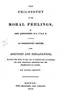 The Philosophy of the Moral Feelings PDF