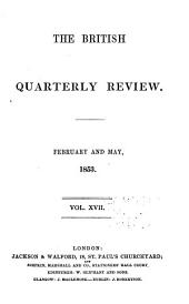 The British Quarterly Review: Volume 17
