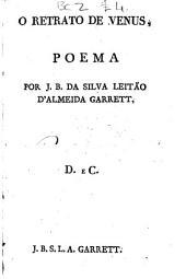 O retrato de Venus: poema