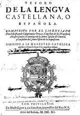 Tesoro de la lengua castellana  o espa  ola PDF