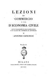 Lezioni di Commercio O Sia D'Economia Civile