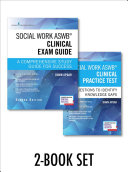 Social Work ASWB Clinical Exam Guide and Social Work ASWB Clinical Practice Test Book