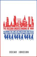 The Russian Understanding of War PDF