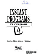 Instant Programs for Youth Groups