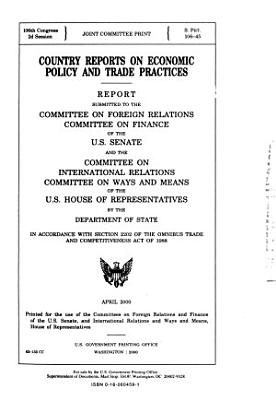 Country Reports on Economic Policy and Trade Practices PDF