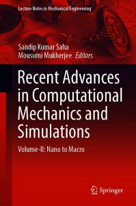 Recent Advances in Computational Mechanics and Simulations PDF