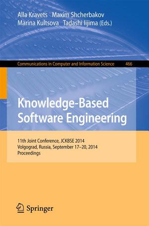 Knowledge-Based Software Engineering