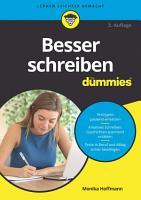 Besser schreiben f  r Dummies PDF