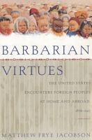 Barbarian Virtues PDF