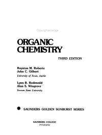 Modern Experimental Organic Chemistry