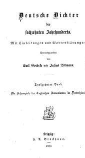 Deutsche Dichter des sechzehnten Jahrhunderts: Bände 13-15