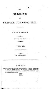 The works of Samuel Johnson: Volumes 7-8