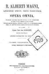 B. Alberti Magni Opera omnia: Volume 21