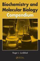 Biochemistry and Molecular Biology Compendium PDF