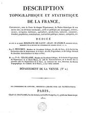 Description topographique et statistique de la France
