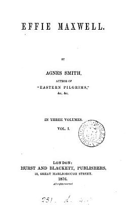 Effie Maxwell PDF
