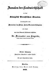 Annalen der Landwirtschaft in den königlich Preussischen Staaten: Band 5