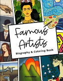 Famous Artists Biography Coloring Book