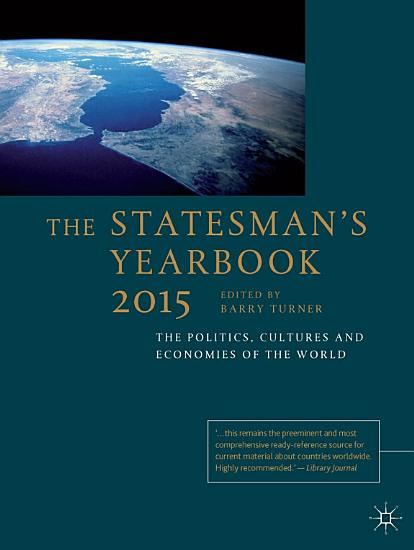 The Statesman s Yearbook 2015 PDF