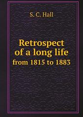 Retrospect of a long life
