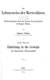 Lebensweise der Meerestheorie. 1893