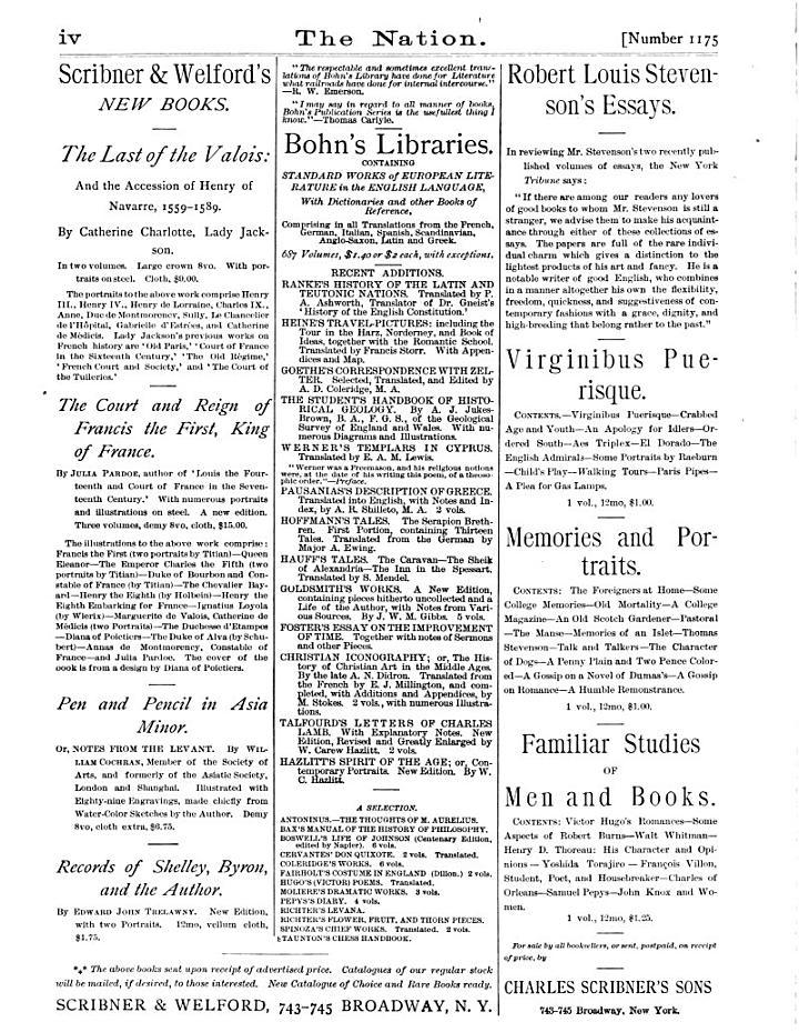 The Nation [Electronic Resource]