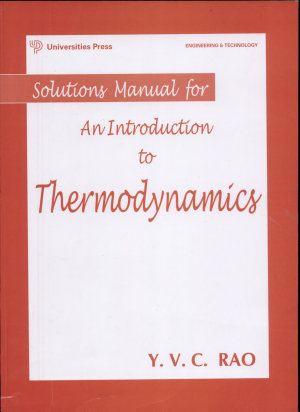 Solutions Manual for an Introduction to Thermodynamics