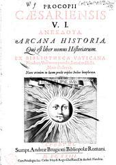 Arcana historia, qui est liber nonus historiarum
