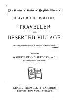 Oliver Goldsmith's Traveller and Deserted Village