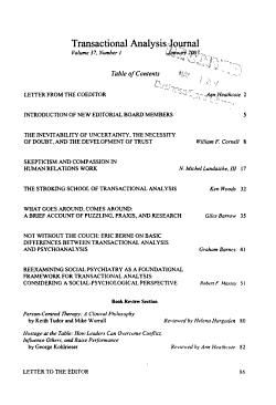 Transactional Analysis Journal PDF