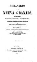 Semanario de la Nueva Granada PDF