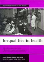 Inequalities in Health PDF