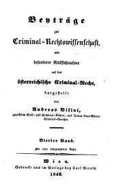 Beytrage zur Criminal-Rechtwissenschaft