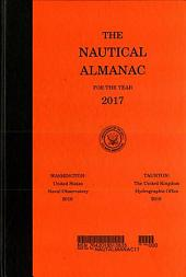 Nautical Almanac for the Year 2017