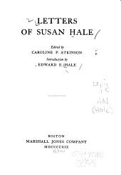 Letters of Susan Hale