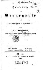 Handbuch der Geographie des österr. Kaiserstaates