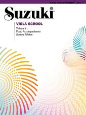 Suzuki Viola School - Volume 4: Piano Accompaniment